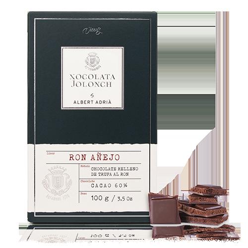 Chocolate Ron 60% 100g Jolonch-Vicens Albert Adrià