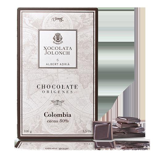 Chocolate Colombia 80% 100g Jolonch-Vicens Albert Adrià