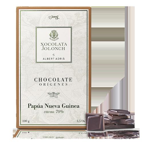 Chocolate Papúa Nueva Guinea 70% 100g Jolonch-Vicens Albert Adrià