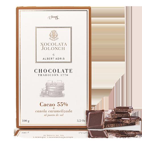 Chocolate Canela 55% 100g Jolonch-Vicens Albert Adrià