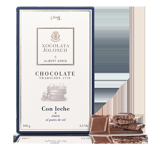 Chocolate Coco con Leche 100g Jolonch-Vic