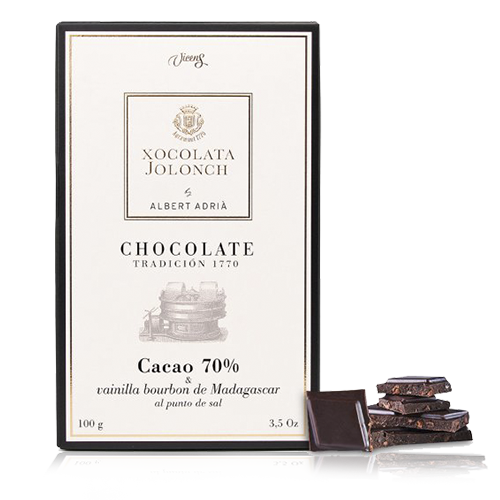 Chocolate Vainilla 70% 100g Jolonch-Vicens Albert Adrià