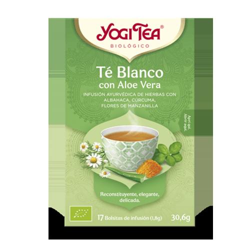 Infusió Té Blanc amb Aloe Vera Bio 17u Yogi Tea