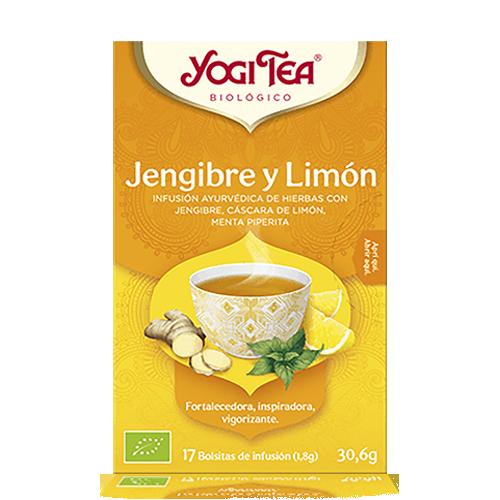 Infusió Gingebre i Llimona Bio 17u Yogi Tea