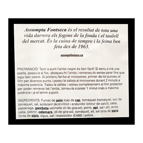 Arròs Negre 550g Assumpta Fontseca