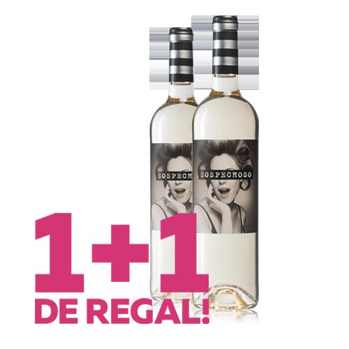 1+1 de Regal Vi Sospechoso Blanc 2018 (D.O. Castilla)