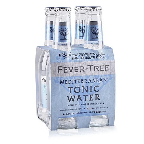 Tònica Mediterranean Ampolla 200ml Fever Tree - Pack 4u