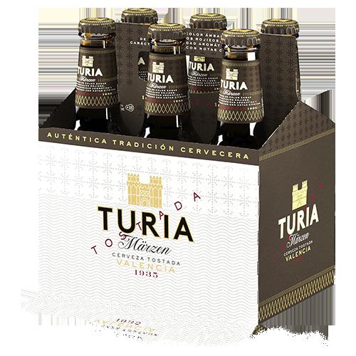 Cervesa Turia Ampolla Vidre 25cl - Pack 6ud