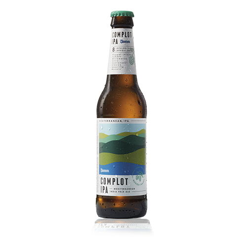 Cervesa Complot IPA Damm Ampolla Vidre 33cl
