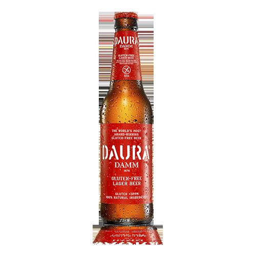 Cervesa Daura Damm S/Gluten Ampolla Vidre 33cl