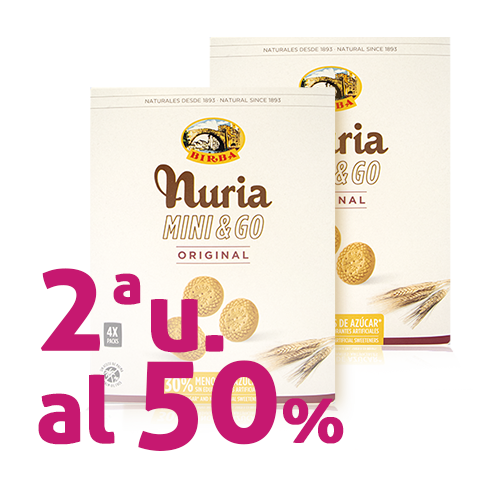Pack 2u. Galeta Mini & Go Original 200g Nuria-Birba