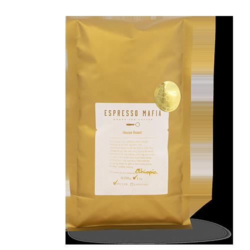 Cafè en Gra Ethiopia 1kg Espresso Mafia - Cal Fruitós