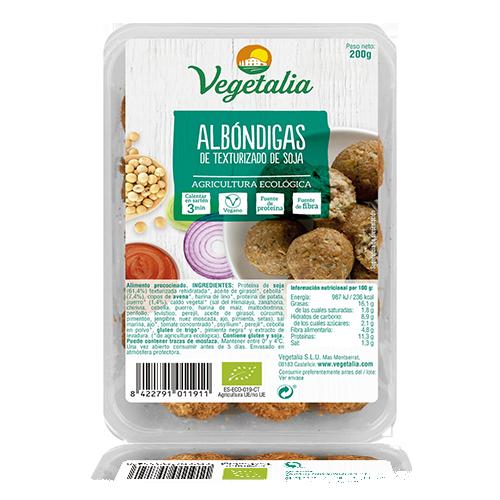 Mandonguilles de Soja Bio 200g Vegetalia