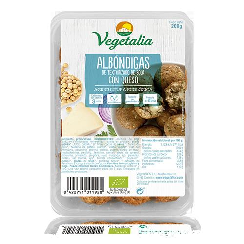 Mandonguilles de Soja amb Formatge Bio (200 g) Vegetalia