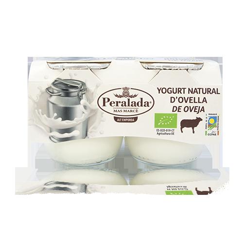 Iogurt  d'Ovella Natural Bio Pack 2u x 125g Peralada
