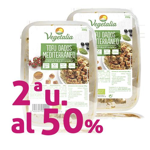 Pack 2u. Tofu a Daus Mediterrani Bio 200g Vegetalia