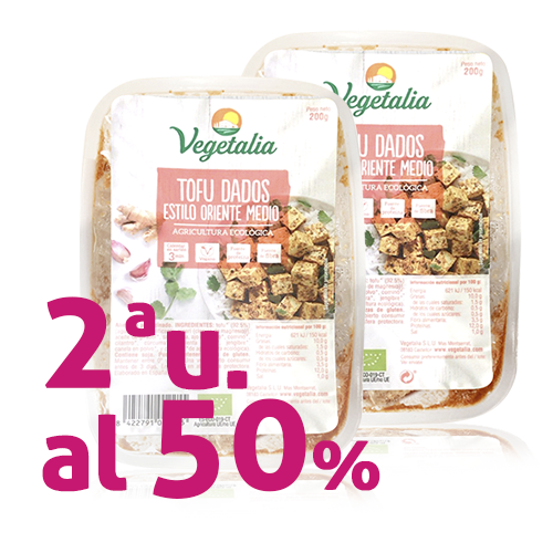 Pack 2u. Tofu a Daus Orient Bio 200g Vegetalia