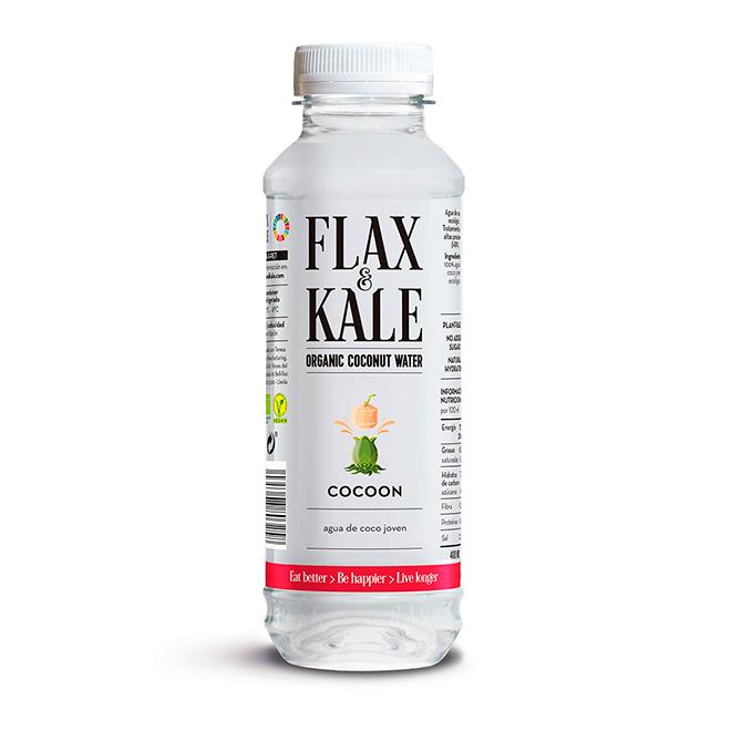 Aigua Fresca de Coco Bio 400ml Flax & Kale
