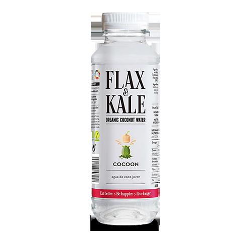 Agua Fresca de Coco Bio 400ml Flax & Kale