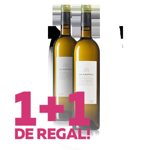 1+1 de Regal Vi Ca N\'Estruc Blanc 2018 (D.O. Catalunya)