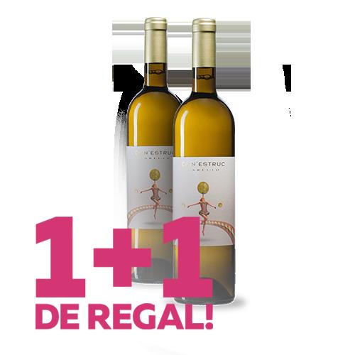 1+1 de Regal Vi Ca N\'Estruc Xarel·lo Blanc 2019 (D.O. Catalunya)