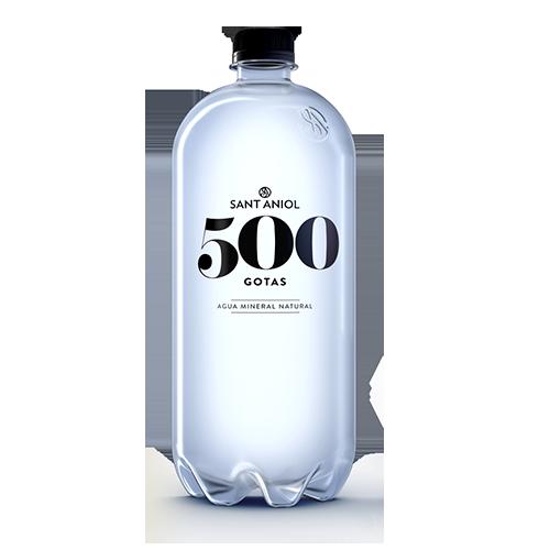 Aigua 500 Gotes Ampolla 1,5 l. Sant Aniol - Pack 6