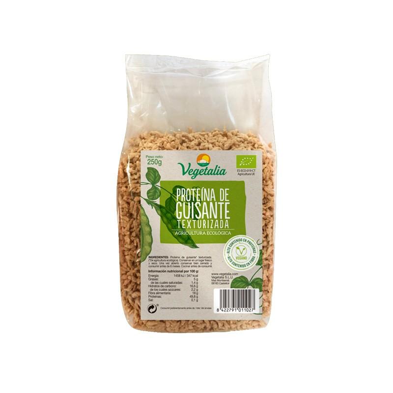 Proteïna de Pèsol Texturitzada Bio 250g Vegetalia