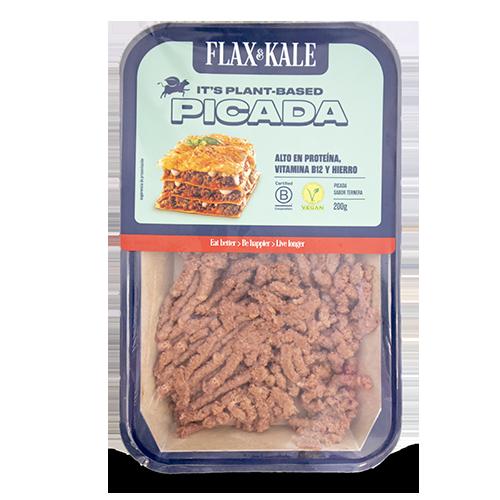 Carn Vegana Picada sabor Vedella 200g Flax&Kale