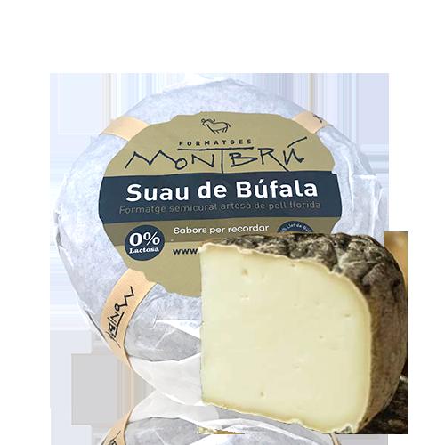 Formatge de Búfala Semicurat Suau Montbrú (Al Tall)