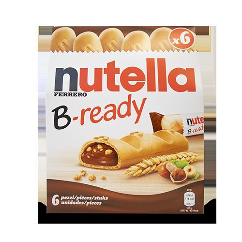 Barritas B-ready 6u Nutella