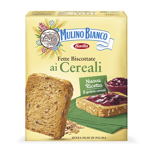 Biscottate Cereali 315g Mulino Bianco-Barilla