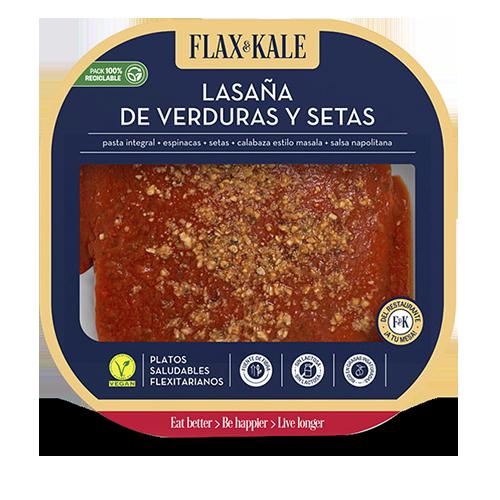 Lasanya Vegana 275g Flax&Kale