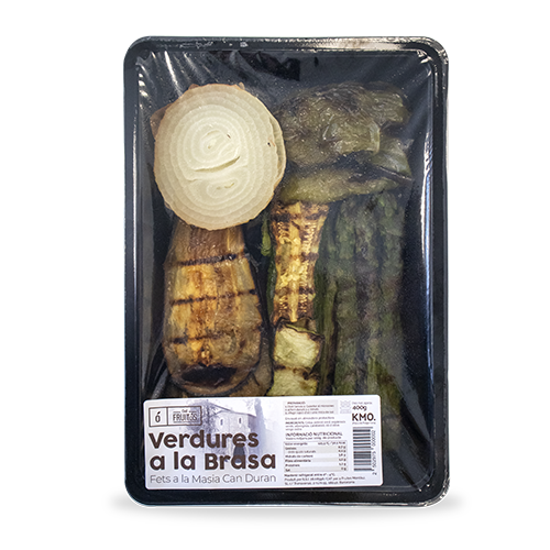 Verdures a la brasa 400g Cal Fruitós