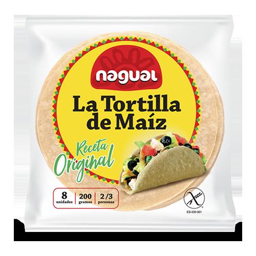 Tortilla de Blat de Moro Original 8u Nagual
