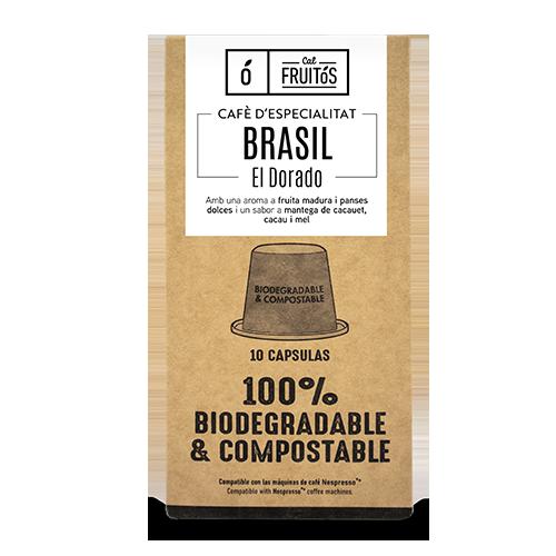 Cafè Càpsules Especialitat Brasil 10u Cal Fruitós