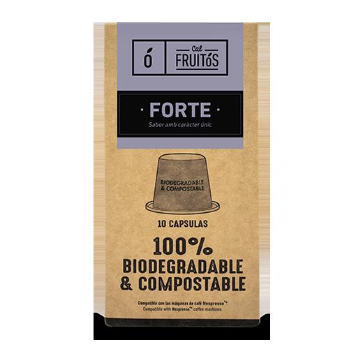 Cafè Càpsules Forte 10u Cal Fruitós