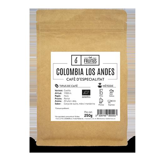 Cafè en Gra Especialitat Colombia 250g Cal Fruitós
