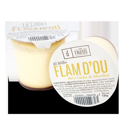 Flan de Huevo hecho en Caldes Pack 2u x130g Cal Fruitós