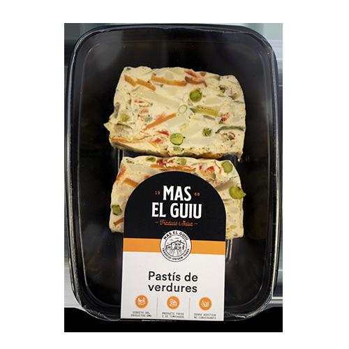 Pastís de Verdures 150g Mas el Guiu