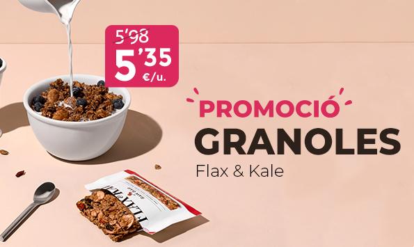 Flax & Kale en promoció