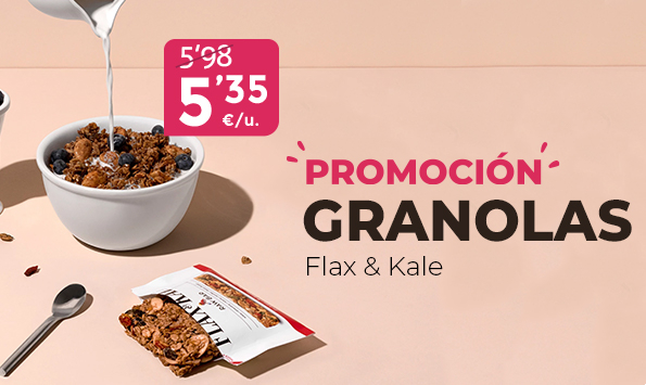 Flax & Kale en promoción